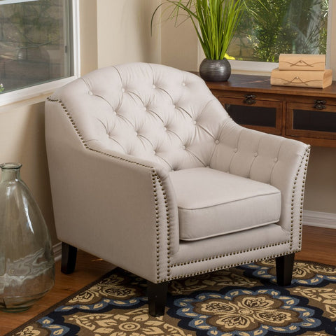 Anna Fabric Club Chair in Many Color Options
