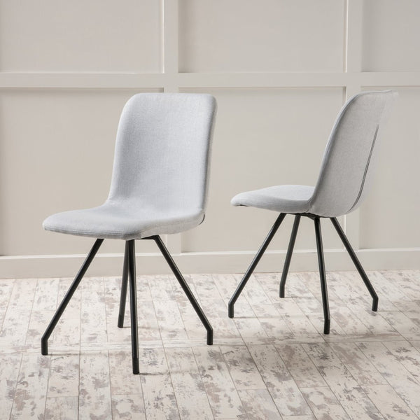 Oliver Fabric Dining Chair (Set Of 2) in Many Color Options