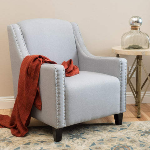 Alton Upholstered Club Chair in Many Colors
