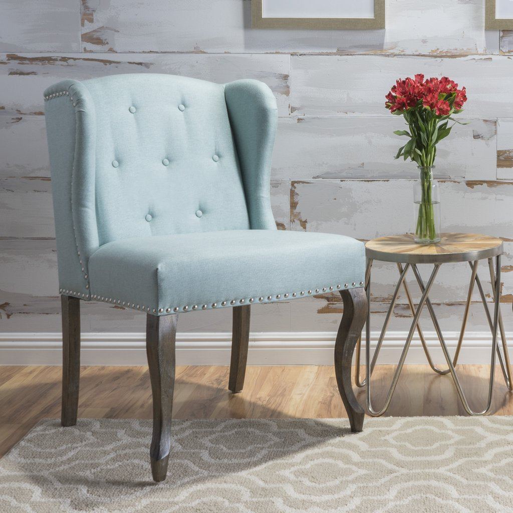 Awe Inspiring Adelle French Design Wingback Dining Chair In Many Color Options Home Interior And Landscaping Synyenasavecom