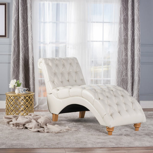 Athelstan Fabric Lounge Chaise in Many Colors