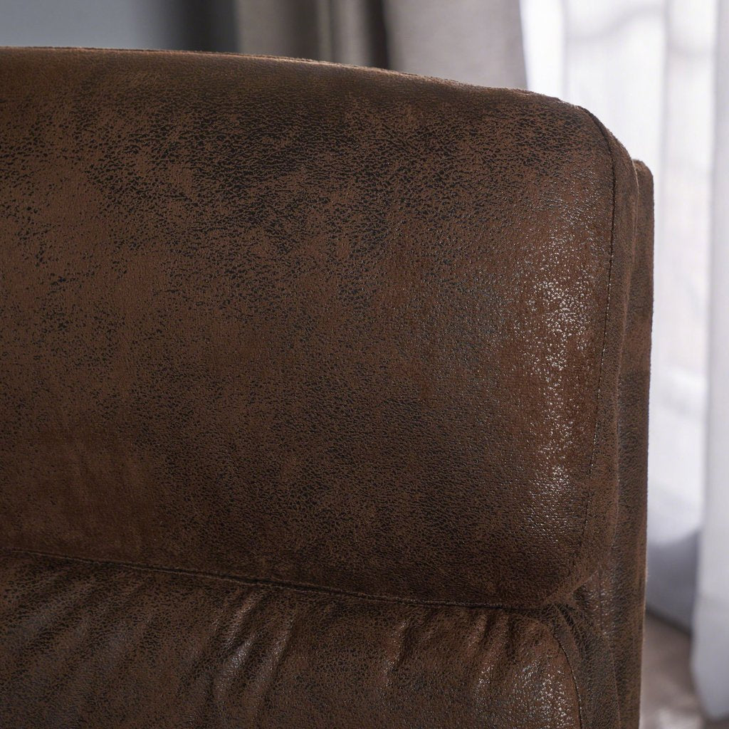 Surprising Modern Microfiber Swivel Accent Chair In Brown Or Slate Pdpeps Interior Chair Design Pdpepsorg
