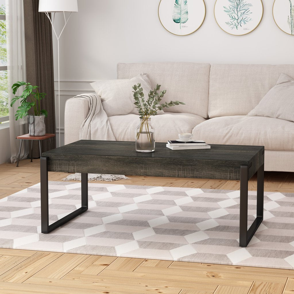 Coffee Table - Black Sonoma Oak