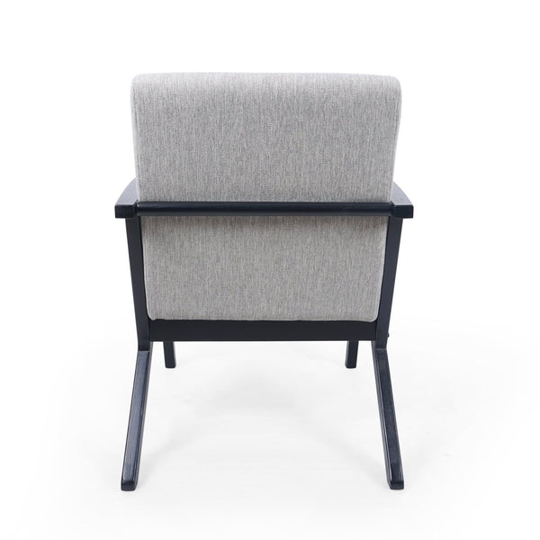 MCM Club Accent Arm Chair in Light Blush, Navy Blue, Light Gray, Misty Gray