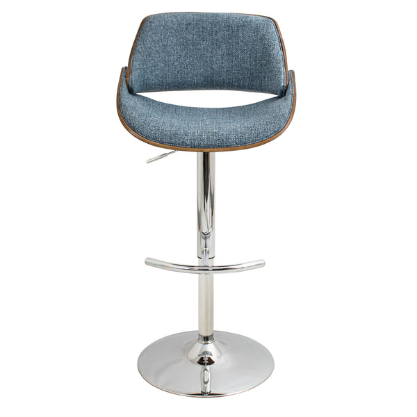 Fabrizzi Adjustable Counter to Bar Stool Blue or Grey