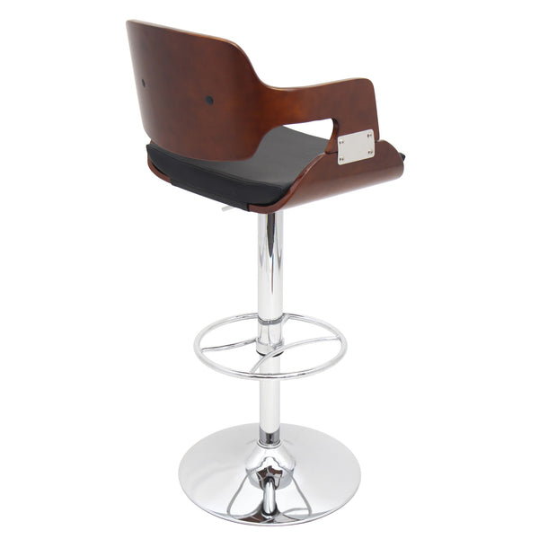 Fiore Adustable Counter to Bar Stool Brown or Black