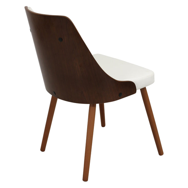 Gianna Dining Chair in Dark Grey or White