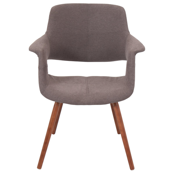 Vintage Flair Dining Arm Chair in Blue, Green, Grey or Brown