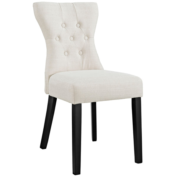 Silhouette Dining Side Chair In Beige OR Gray