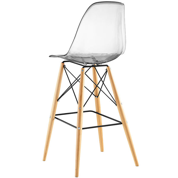 Eames Style Plastic Molded Bar Stool in MANY Colors Options