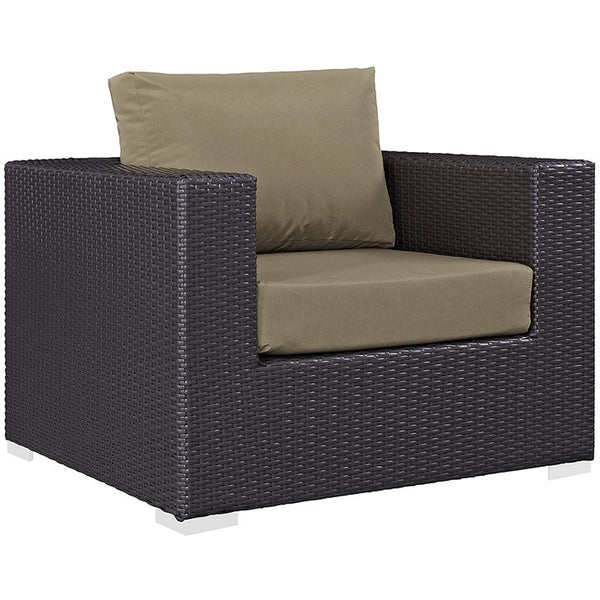 CONVENE OUTDOOR PATIO ARMCHAIR in MANY COLORS