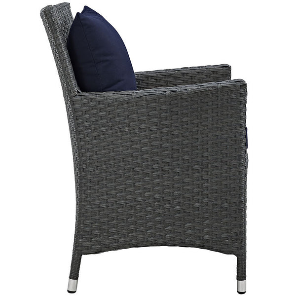 SOJOURN DINING OUTDOOR PATIO SUNBRELLA® ARMCHAIR in MANY COLORS