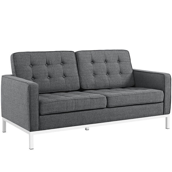Florence Style Loft Loveseat in MANY COLORS
