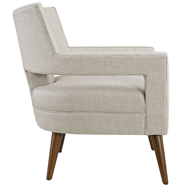 SHEER FABRIC ARMCHAIR IN MANY COLOR OPTIONS