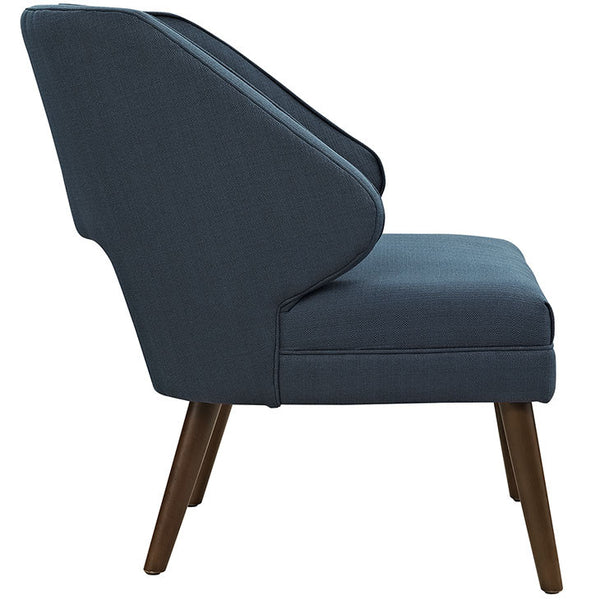 DOCK FABRIC ARMCHAIR In AZURE OR GRAY