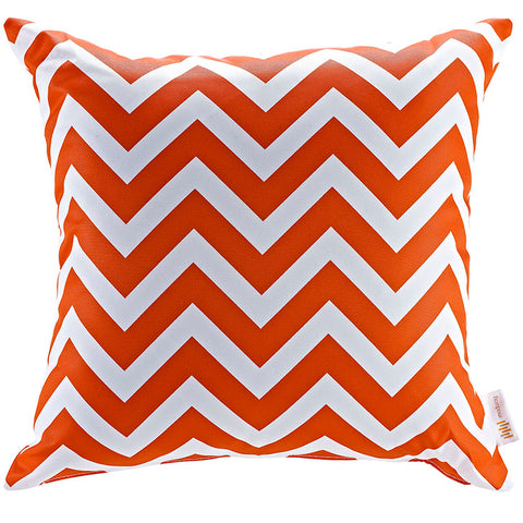 "Indoor/Outdoor 18""Sq Pillow Chevron collection (1 Pillow)"