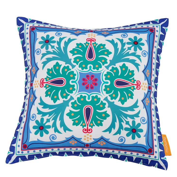 "Indoor/Outdoor 18""Sq Pillow CLOVER collection (1 Pillow)"