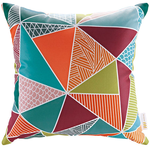 "Indoor/Outdoor 18""Sq Pillow Mosaic collection (1 Pillow)"