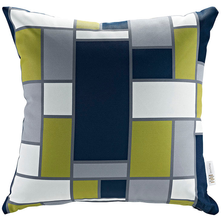 "Indoor/Outdoor 18""Sq Pillow Rectangle collection (1 Pillow)"