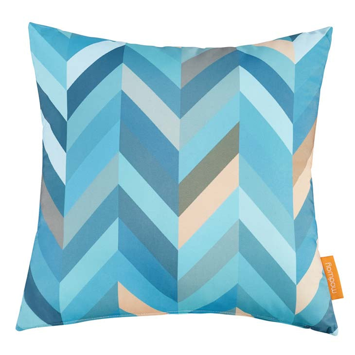 "Indoor/Outdoor 18""Sq Pillow WAVE collection (1 Pillow)"