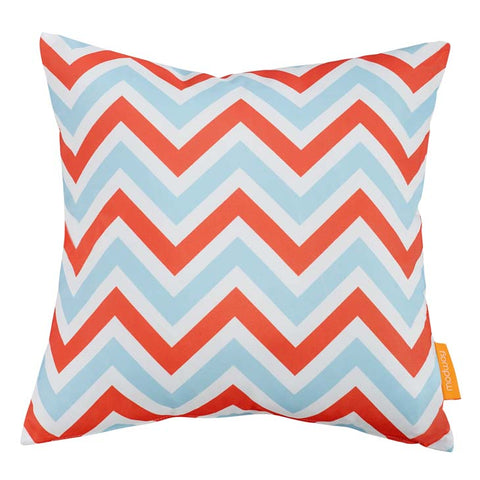 "Indoor/Outdoor 18""Sq Pillow ZIG-ZAG collection (1 Pillow)"