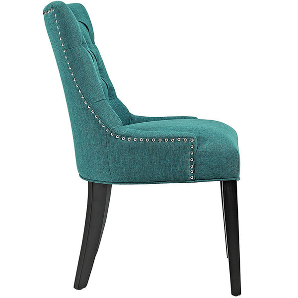 Regent Fabric Dining Chair In Many Color Options