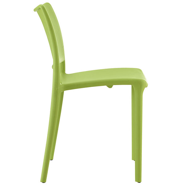 HIPSTER DINING SIDE CHAIR SET OF 2 IN MANY COLOR OPTIONS
