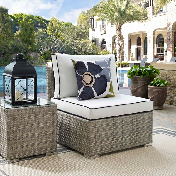 Repose Outdoor Patio Armless Chair in 6 colors