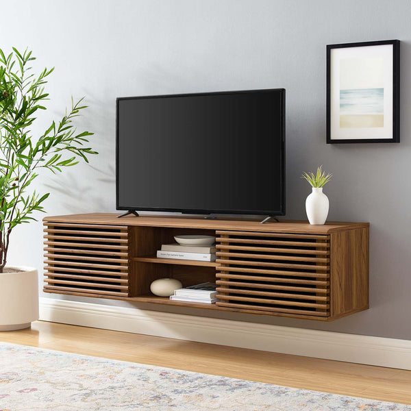 "Render 60"" Wall-Mount Media Console TV Stand"