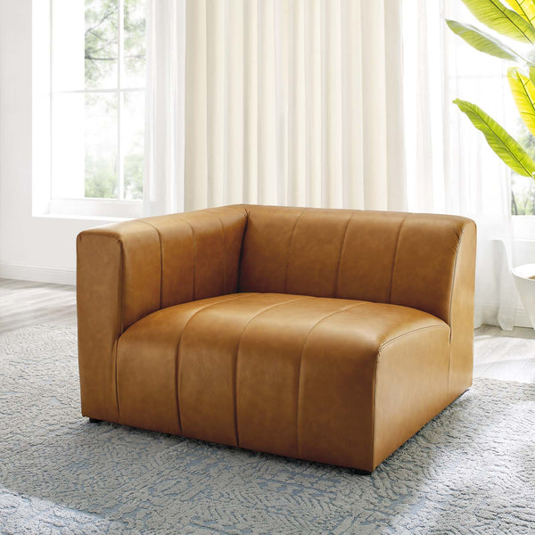 Bartlett Vegan Leather Left-Arm Chair