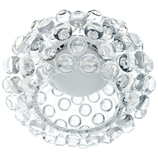 "Caboche Style Ceiling Glass Lamp 19"" or 25"" Round"