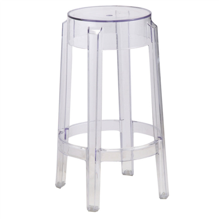 COUNTER STOOL or BAR STOOL PHILIPPE STARK GHOST STYLE