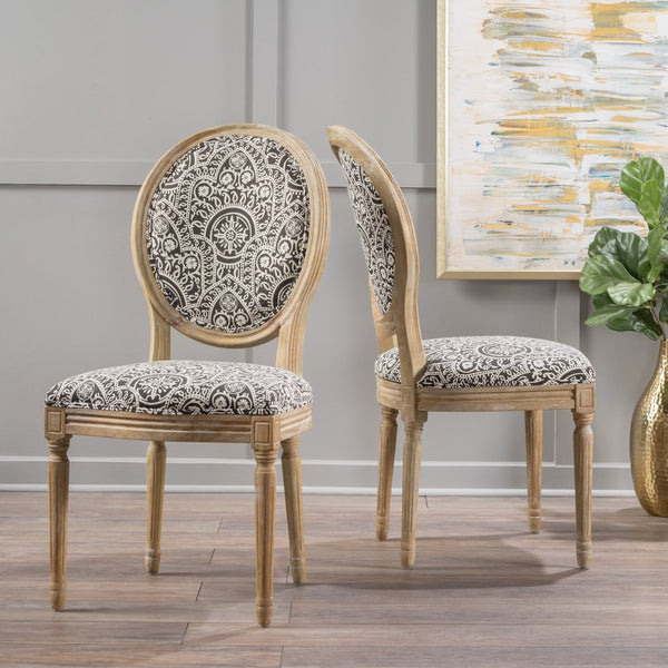 Calwood Fabric Dining Chair (Set Of 2) Many Color Options