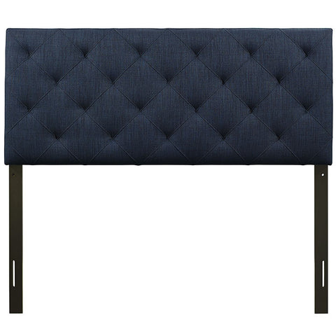 Theodore Headboard in FULL in AZURE