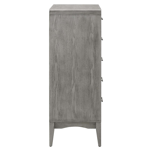 Georgia Wood Chest in Gray