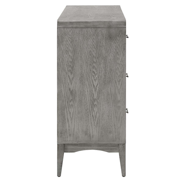 Georgia Wood Dresser in Gray