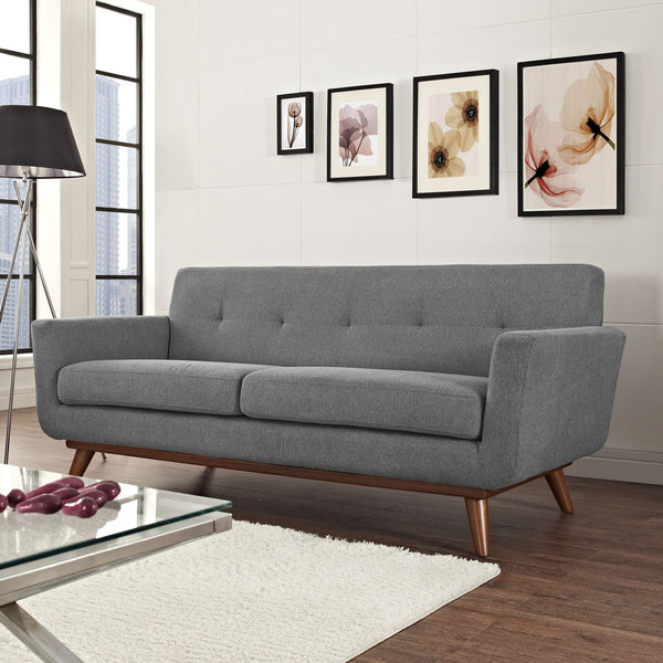 "Engage 78""L Loveseat Linen Like Fabric MANY COLORS EEI-1179  Modway"