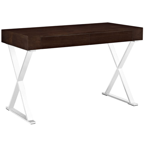Hector Desk in Dark Walnut Veneer