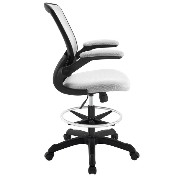 Vee Drafting Counter-Bar Height Office Task Chair in MANY COLORS