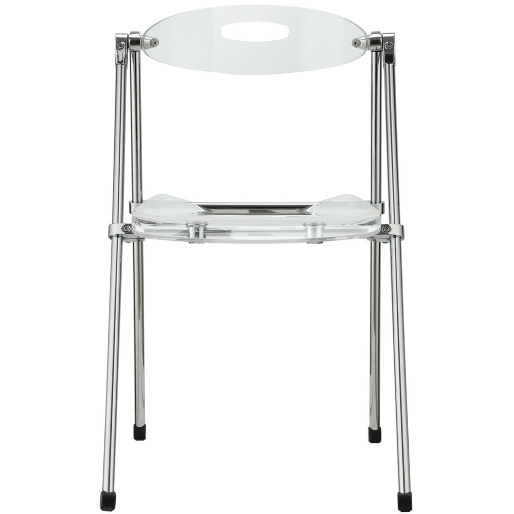 Superior ... Telescoping Folding Chair In Clear ...