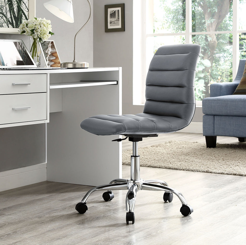 ripple armless office task chair in many colors mcm classics