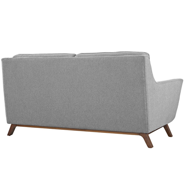 "Mid Century Modern Beguile Loveseat 71.5""L Linen Like Fabric MANY COLORS EEI-1799 Modway"