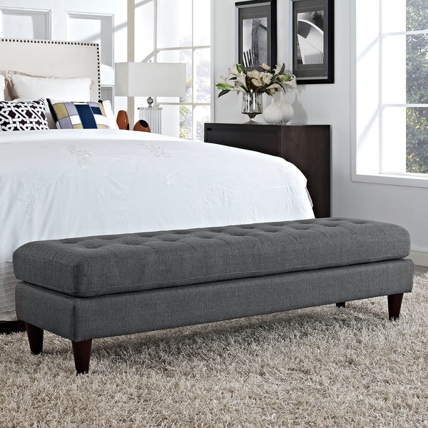 "EMPRESS 71""L LARGE OTTOMAN BENCH IN MANY COLOR OPTIONS"
