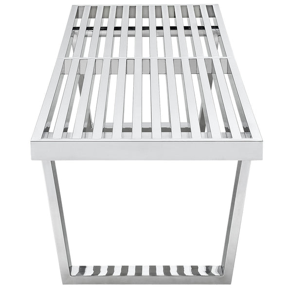 "Nelson Style Sauna Stainless Steel 60""L Bench"