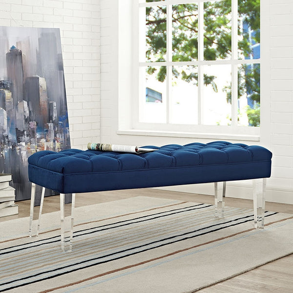 VALET VELVET BENCH IN MANY COLOR OPTIONS