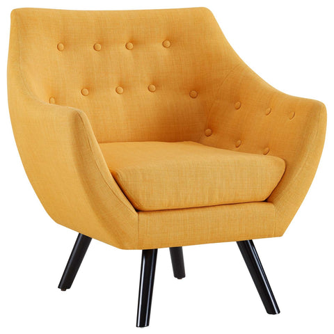 Allegory Armchair In Mustard/ Teal/ White