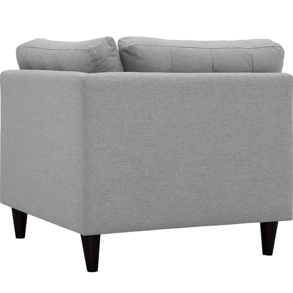 EMPRESS UPHOLSTERED FABRIC CORNER SOFA IN MANY COLOR OPTIONS