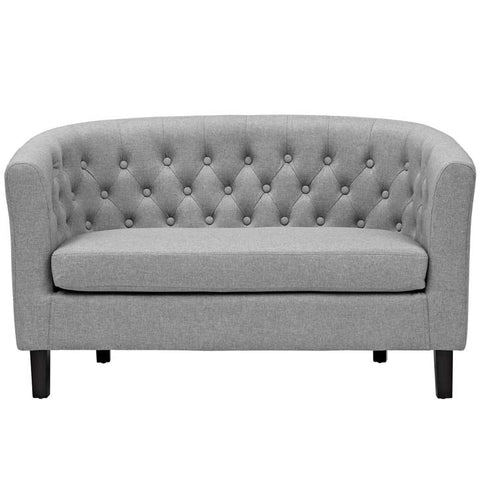 PROSPECT FABRIC LOVESEAT IN MANY COLOR OPTIONS