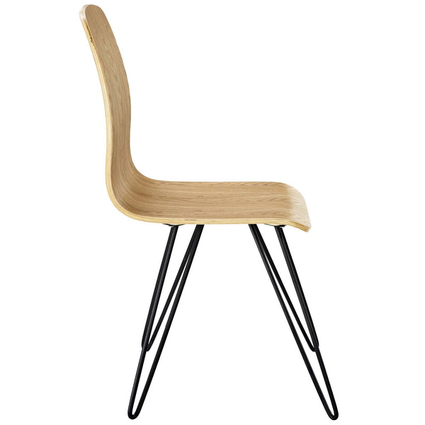 DRIFT BENTWOOD DINING SIDE CHAIR IN WALNUT or NATURAL