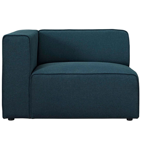MINGLE MODULAR FABRIC LEFT-ARM FACING CHAIR IN MANY COLOR OPTIONS